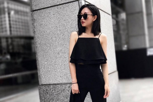 fashion item warna hitam
